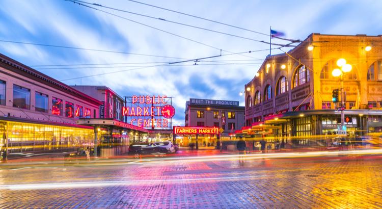 Καλύτερο μέρος για να επισκεφτείς στο Seattle η ανοιχτή αγορά Pike