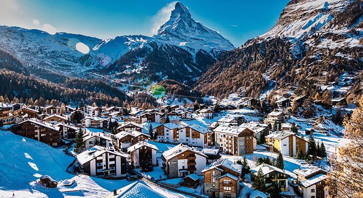 Ζερμάτ ένας από τους καλύτερους προορισμούς της Ελβετίας