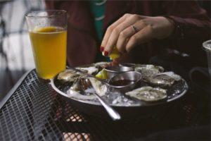 Street food france_ Φωτογραφία Oysters