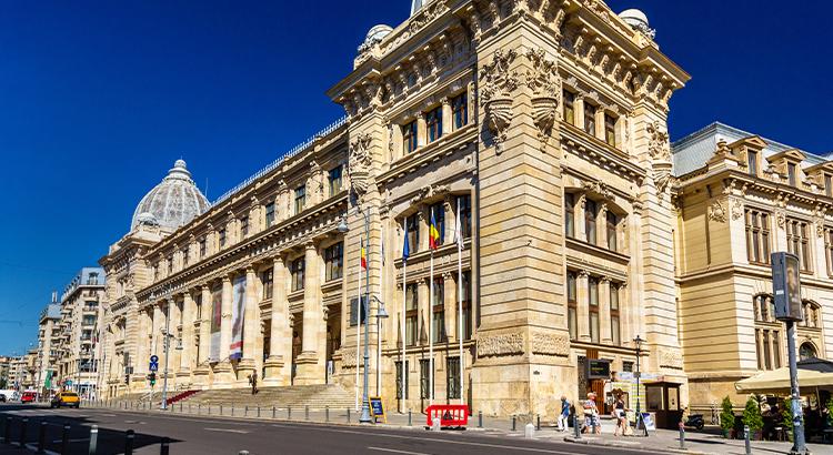 Το Εθνικό Μουσείο Ρουμανικής Ιστορίας, Βουκουρέστι