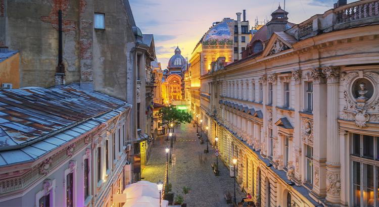 Η παλιά πόλη του Βουκουρεστίου