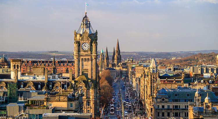 Εδιμβούργο, ένας από τους καλύτερους προορισμούς της Σκωτίας