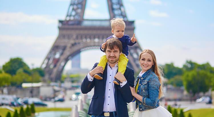 Παρίσι, ένας από τους καλύτερους προορισμούς για οικογενειακές διακοπές