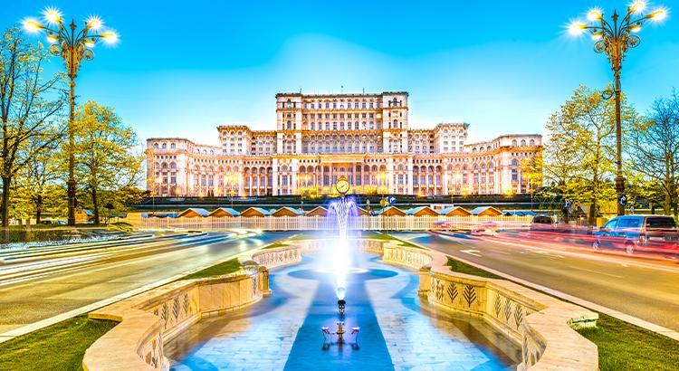 Το παλάτι του κοινοβουλίου, Βουκουρέστι