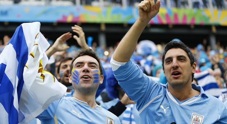 Οι Ουρουγουανοί είναι σπουδαίοι στο ποδόσφαιρο, ένα από τα στοιχεία της Ουρουγουάης