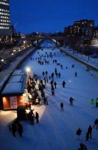 Φεστιβάλ Καναδά-Φωτογραφία Rideau Canal Skateway