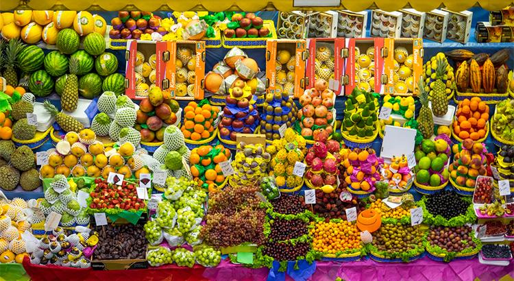 Φρούτα σε όλη τη Βραζιλία, street food