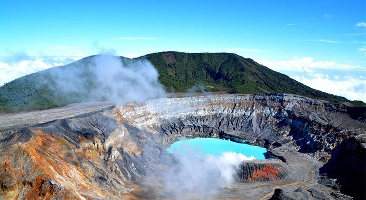 Poas volcano, ένας από τους καλύτερους προορισμούς στην Κόστα Ρίκα