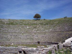 Ιωάννινα τα top μέρη_Φωτογραφία Αρχαίο θέατρο Δωδώνης