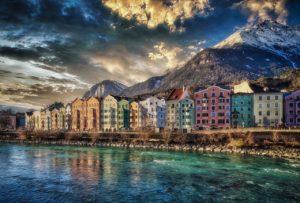 Αυστρία όμορφα μέρη - Φωτογραφία Ίνσμπρουκ