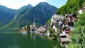 Αυστρία όμορφα μέρη - Φωτογραφία Χάλστατ