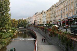 Τσεχία όμορφα μέρη - Φωτογραφία Κάρλοβι Βάρι