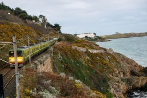 Ιρλανδία – ταξιδιωτικός οδηγός - φωτογραφία Τραίνο στην Ιρλανδία
