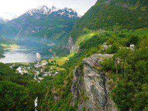Νορβηγία – ταξιδιωτικός οδηγός - φωτογραφία Geirangerfjord